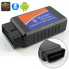 ELM327 Bluetooth Interface OBDII OBD2 Diagnostic Car Scanner Scan+Suction Cup