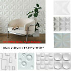 12× 3d Pvc Diy Home Self Adhesive Wall Sticker Panel Wallpaper Living Room Decor