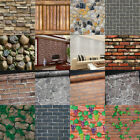 Wall Stickers Waterproof Material And Picture Of Brick Motif For Home Decor Hl
