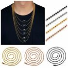 """2mm 20""""-30"""" Stainless Steel Ball Beads Chain Necklace Fit Pendant Jewelry Lot"""