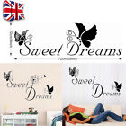 Removable Word Art Vinyl Wall Stickers Quote Mural Home Kitchen Room Decal Decor