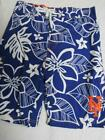 New York Mets Youth S M L or XL Embroidered Swim Trunks Board Shorts C1 82