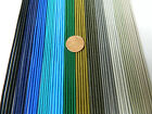 2 mm. ELASTIC CORD BLACK NAVY ROYAL BLUE TURQ GREEN GRAY KHAKI 2,5,10,20 YARDS