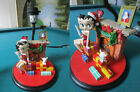 BETTY BOOP CHRISTMAS TABLE LAMP, NEW NO BOX, SANTA CHIMNEY DOGGIE GIFT  PICK 1 $85.0 USD on eBay