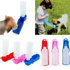 1Pcs Dog Travel Sport Water Bottle Outdoor Feed Drinking Feeder Pet Supply 500ml