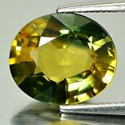 Green Yellow Sapphire Oval Shape 3.91 Ct. Certified Natural Gemstone Thailand