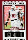 2019 Panini Contenders Draft Picks Pick Your Player 1-100 FREE SHIPPING