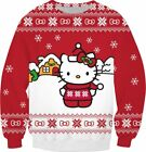 Classic Hello Kitty Ugly Christmas Sweater
