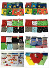 Lot of 5 or 6 Boys Seamless Boxer Bikini Short Kids Spandex Underwear Boy Briefs