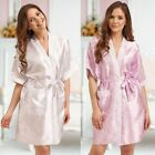 Nine X Patterned Wedding Robe Dressing Gown Floral Design Bridesmaid Alice