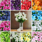54 pcs EXTRA LARGE Lilies Wedding Silk Artificial Lily Flowers for Centerpieces