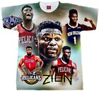 ZION PELICAN T-shirt. Adult And Youth Sizes. Zion Williamson Shirt. New Orleans  image