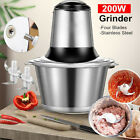 200W Electric Meat Grinder Stainless Sausage Maker Vegetable Cutter Knife Cover photo