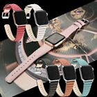 Classy Genuine Leather Wrist Strap for Apple Watch Band iWatch 4 3 2 1 Women Men image