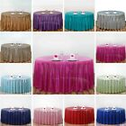 Sequin ROUND Tablecloth Dinner Wedding Linens Party Tradeshow Booth Decorations