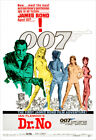 Dr. No - James Bond 007 - Movie Poster Print $19.5 USD on eBay