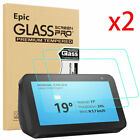 "2PC For Amazon Echo Show 5- 3rd Gen 5.5"" Display Tempered Glass Screen Protector"