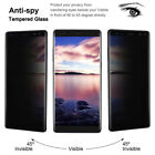 Privacy Anti-Spy Tempered Glass Screen Protector for Samsung Galasy Note 9 S9 S8