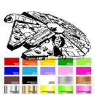 Star Wars Rebels Millennium Falcon Vehicle Decal for Macbook Laptop Car Window $16.85 USD on eBay