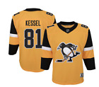 NHL Youth Pittsburgh Penguins Phil Kessel 81 Premium Alternate Jersey NWT 100