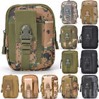 Universal Case Cover Belt Pouch Phone Holster Coin Zipper Army Camo Tactical Bag