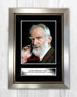 George Bernard Shaw by Jecinci A4 reproduction signed poster choice of frame