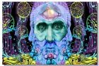 Poster Psychedelic Trippy Colorful Ttrippy Surreal Abstract Digital Art Print 41