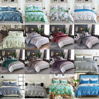 Microfiber Bedding Duvet Cover Set with Zipper and Ties For Home Decoration image