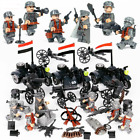 WW2 Special Force Soldiers Minifigures with Weapons Sets fit Lego World War 2