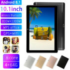 "10.1"" Tablet Pc Android 8.1 4g+64g Octa Core Dual Sim Camera Wifi Phone Phablet"