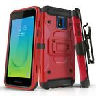 for SAMSUNG GALAXY J2 SHINE/DASH/PURE, [Tank Series] Phone Case Cover & Holster