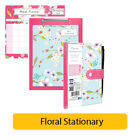FLORAL COLLECTION - Stationery Home School Office Supplies Party Gifts {Anker}