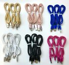 3Pack-3Ft-For-iPhone-5-6-7-Plus-8-X-USB-Charger-Nylon-Cable-Data-SYNC-Cord-