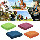 2-Layer Ice Cold Instant Cooling Towel Running Yoga Gym Sport Towel Neck Wrap image