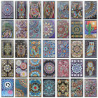 5D DIY Mandala Special Shaped Diamond Painting Notebook Diary Book Sketchbook