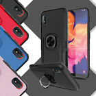 For Samsung Galaxy A10e Ring Stand Holder Case Cover + Anti-spy Screen Protector $3.98 USD on eBay