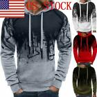 US Mens Printing Sweatshirt Male Autumn Winter Hoodie Warm Pullover 03