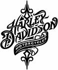 Harley Davidson art vinyl decal sticker colors available $6.99 USD on eBay