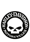 Harley Davidson round logo vinyl decal sticker colors available $5.99 USD on eBay