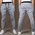 Mens Slim Fitness Tracksuit Loose Skinny Jogging Casual Sweat Pants Gym Trousers