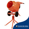 More images of Genuine Belle Concrete Cement Mixer Minimix 150 110v inc. Stand