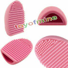 Cleaning Cosmetic Make Up Brushes Tool Silicone Hand Cleaner Tool Finger Glove