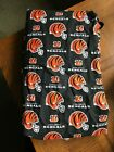 NFL Cincinnati Bengals Cotton Fabric by the Yard Great for crafts Sewing $8.98 USD on eBay