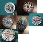 PAPERWEIGHT MURANO MILLEFIORE THOUSAND FLOWERS ITALY PICK ONE