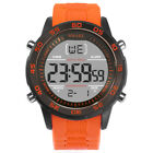SMAEL Men's 50M Waterproof Sports Watches Digital LED Military Chronograph Watch image