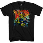 X-Men 90's Team Breakout Marvel Comics Officially Licensed Adult T Shirt image
