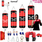 Kyпить 1+9 Unfilled Heavy Boxing Punching Bag Kicking MMA Workout Training Gloves на еВаy.соm