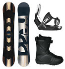 HEAD Rush Snowboard+Flow Bindings+Flow BOA Boots NEW