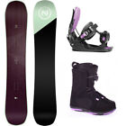 Nidecker Venus 147 Womens Snowboard+FLOW Bindings+Head BOA Boots NEW