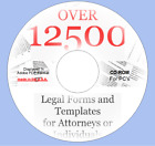 Legal law office suite - forms, wills,document and more - over 12,500 forms